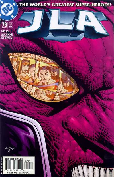 Cover for JLA (DC, 1997 series) #79