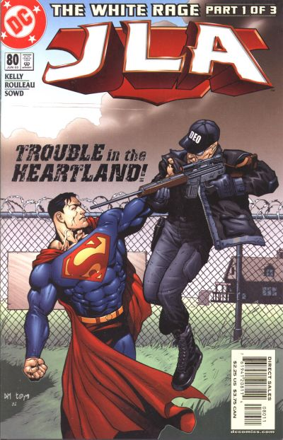 Cover for JLA (DC, 1997 series) #80
