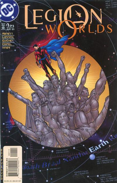 Cover for Legion Worlds (DC, 2001 series) #1