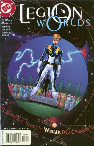 Cover for Legion Worlds (DC, 2001 series) #2