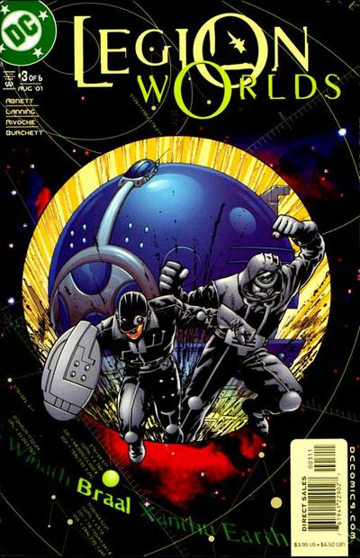 Cover for Legion Worlds (DC, 2001 series) #3