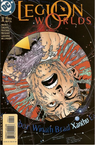 Cover for Legion Worlds (DC, 2001 series) #4