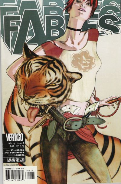 Cover for Fables (DC, 2002 series) #8