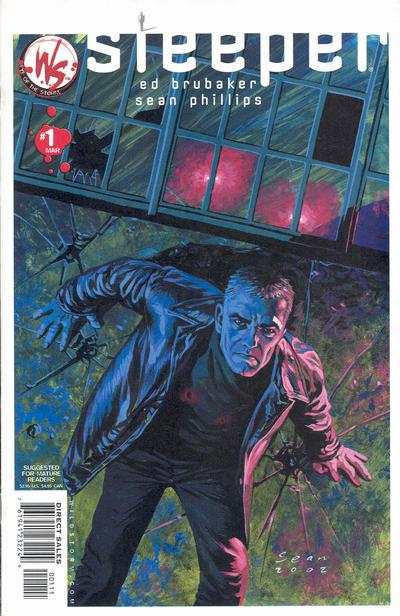 Cover for Sleeper (DC, 2003 series) #1