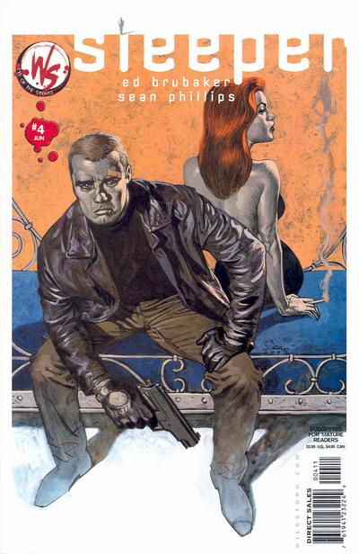 Cover for Sleeper (DC, 2003 series) #4