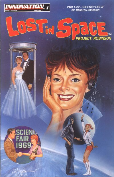 Cover for Lost in Space: Project Robinson (Innovation, 1993 series) #1