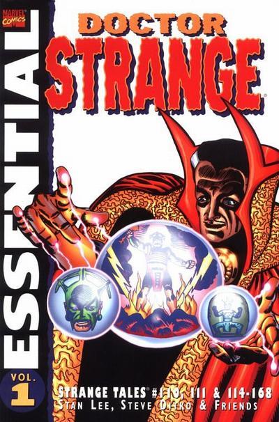 Cover for Essential Dr. Strange (Marvel, 2001 series) #1 [2006 Cover]