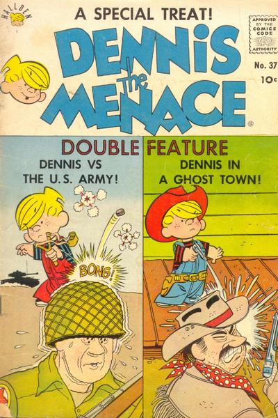 Cover for Dennis the Menace (Hallden; Fawcett, 1959 series) #37