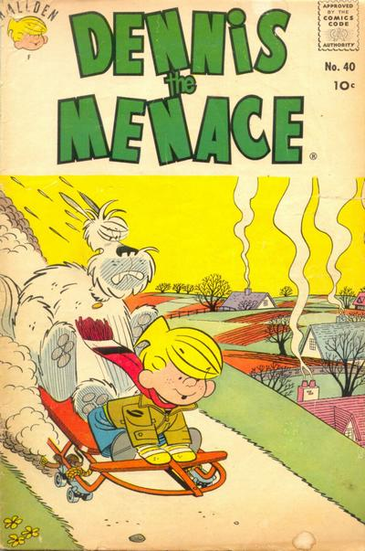 Cover for Dennis the Menace (Hallden; Fawcett, 1959 series) #40