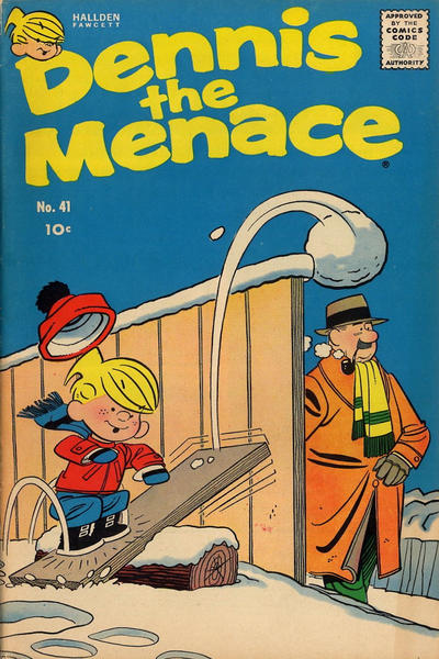 Cover for Dennis the Menace (Hallden; Fawcett, 1959 series) #41