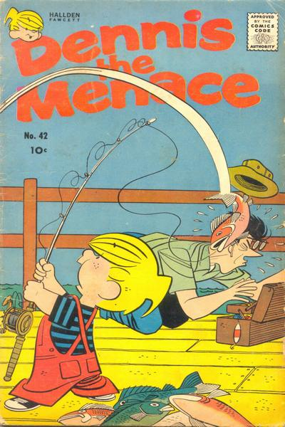 Cover for Dennis the Menace (Hallden; Fawcett, 1959 series) #42