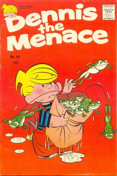 Cover for Dennis the Menace (Hallden; Fawcett, 1959 series) #44