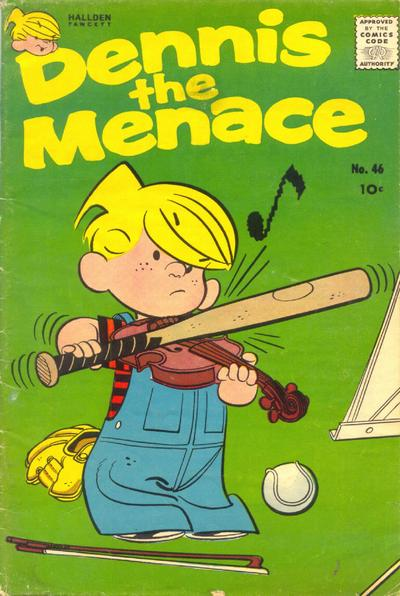 Cover for Dennis the Menace (Hallden; Fawcett, 1959 series) #46