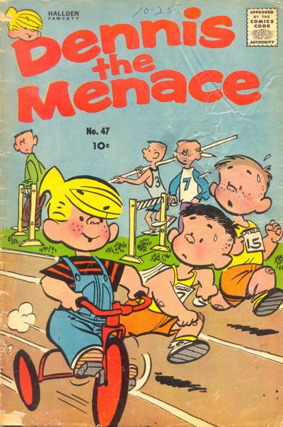Cover for Dennis the Menace (Hallden; Fawcett, 1959 series) #47