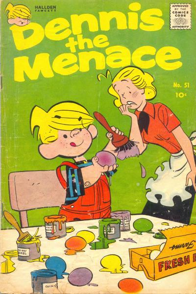 Cover for Dennis the Menace (Hallden; Fawcett, 1959 series) #51