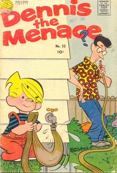 Cover for Dennis the Menace (Hallden; Fawcett, 1959 series) #52