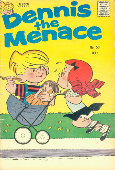 Cover for Dennis the Menace (Hallden; Fawcett, 1959 series) #53