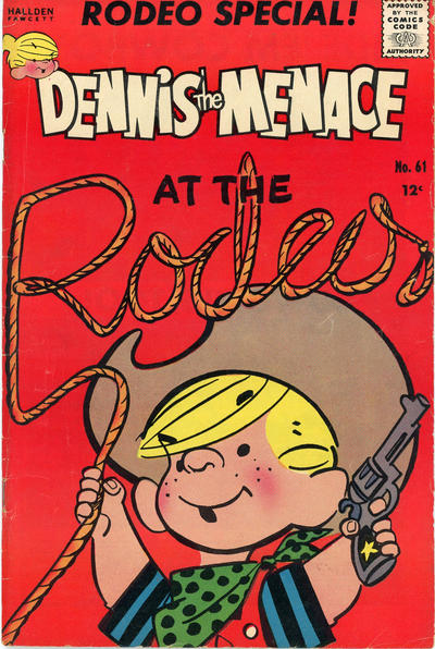 Cover for Dennis the Menace (Hallden; Fawcett, 1959 series) #61