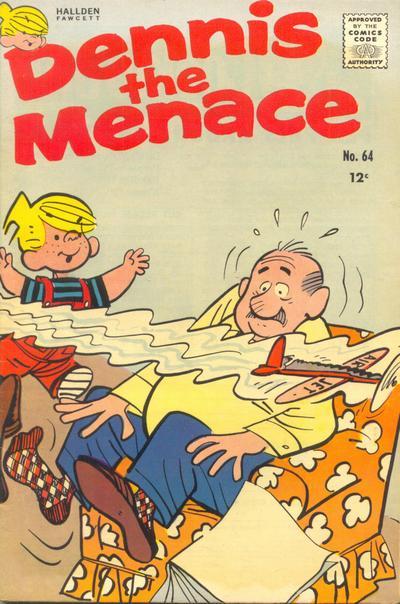 Cover for Dennis the Menace (Hallden; Fawcett, 1959 series) #64