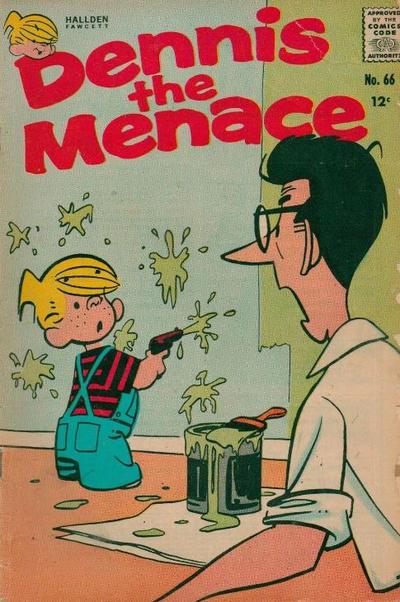 Cover for Dennis the Menace (Hallden; Fawcett, 1959 series) #66
