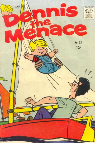 Cover for Dennis the Menace (Hallden; Fawcett, 1959 series) #73