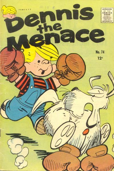 Cover for Dennis the Menace (Hallden; Fawcett, 1959 series) #74