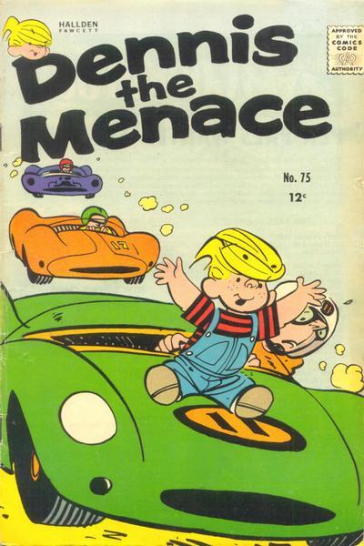 Cover for Dennis the Menace (Hallden; Fawcett, 1959 series) #75