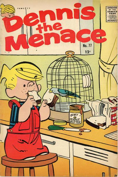 Cover for Dennis the Menace (Hallden; Fawcett, 1959 series) #77