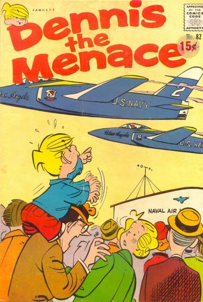 Cover for Dennis the Menace (Hallden; Fawcett, 1959 series) #82