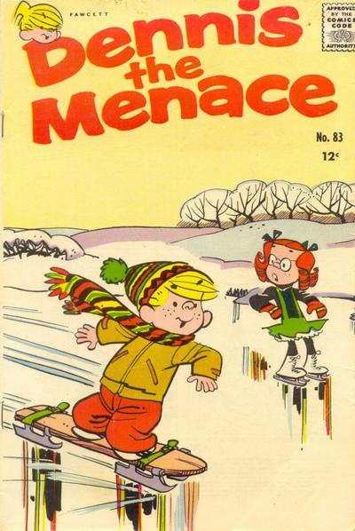 Cover for Dennis the Menace (Hallden; Fawcett, 1959 series) #83