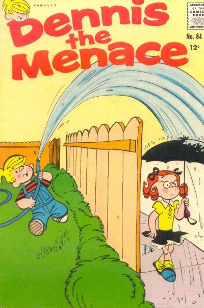 Cover for Dennis the Menace (Hallden; Fawcett, 1959 series) #84