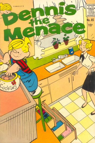 Cover for Dennis the Menace (Hallden; Fawcett, 1959 series) #85