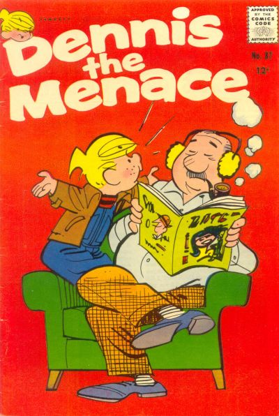 Cover for Dennis the Menace (Hallden; Fawcett, 1959 series) #87