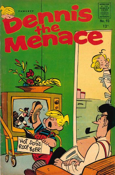 Cover for Dennis the Menace (Hallden; Fawcett, 1959 series) #93