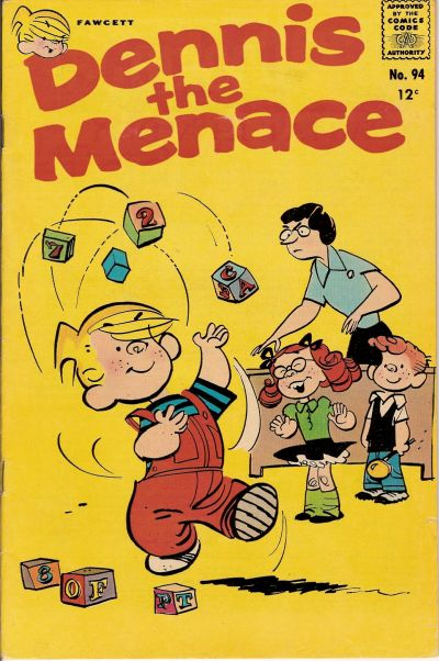 Cover for Dennis the Menace (Hallden; Fawcett, 1959 series) #94