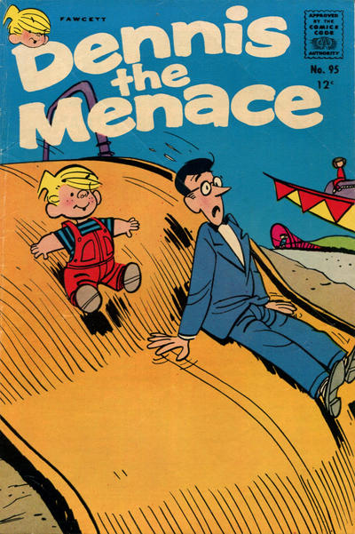 Cover for Dennis the Menace (Hallden; Fawcett, 1959 series) #95