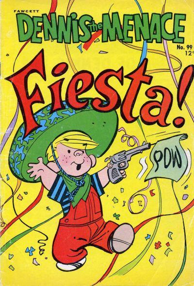 Cover for Dennis the Menace (Hallden; Fawcett, 1959 series) #99