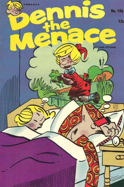 Cover for Dennis the Menace (Hallden; Fawcett, 1959 series) #106