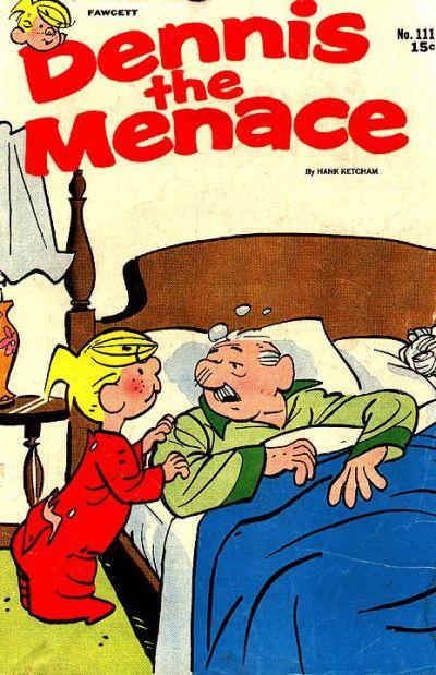 Cover for Dennis the Menace (Hallden; Fawcett, 1959 series) #111