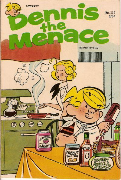 Cover for Dennis the Menace (Hallden; Fawcett, 1959 series) #112