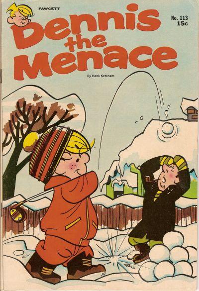 Cover for Dennis the Menace (Hallden; Fawcett, 1959 series) #113