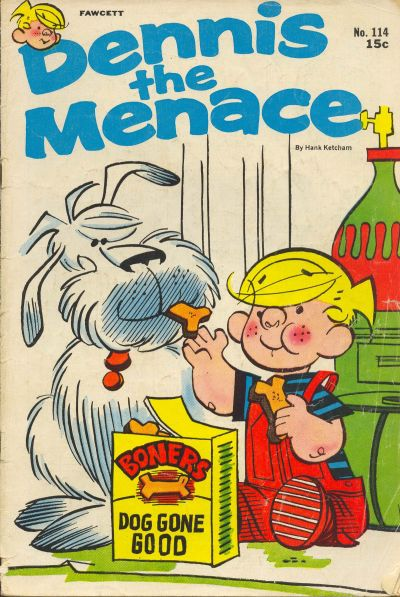 Cover for Dennis the Menace (Hallden; Fawcett, 1959 series) #114