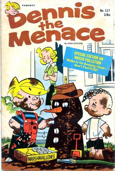 Cover for Dennis the Menace (Hallden; Fawcett, 1959 series) #117
