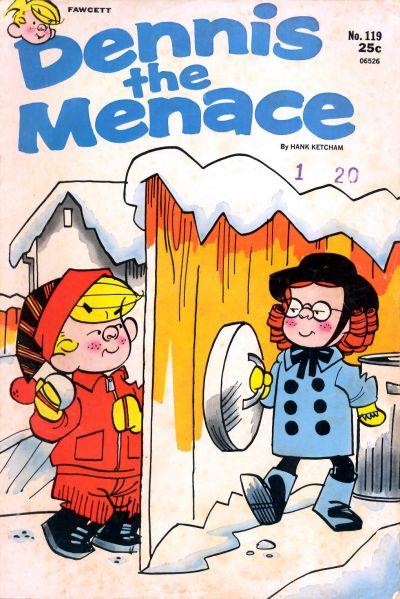 Cover for Dennis the Menace (Hallden; Fawcett, 1959 series) #119