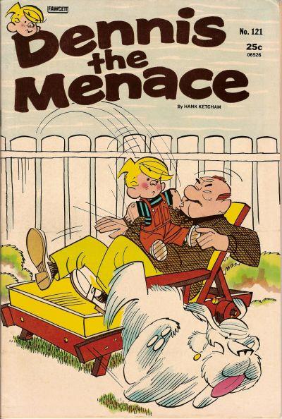 Cover for Dennis the Menace (Hallden; Fawcett, 1959 series) #121
