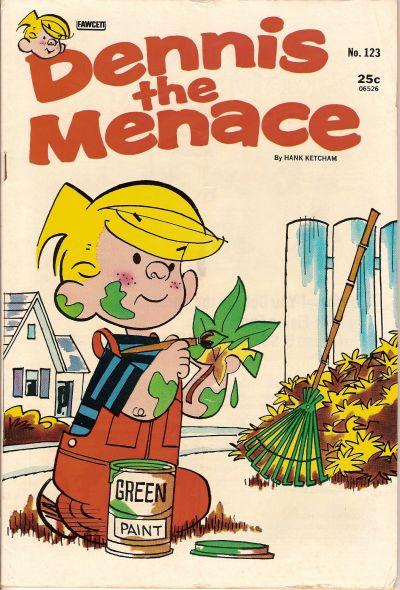 Cover for Dennis the Menace (Hallden; Fawcett, 1959 series) #123