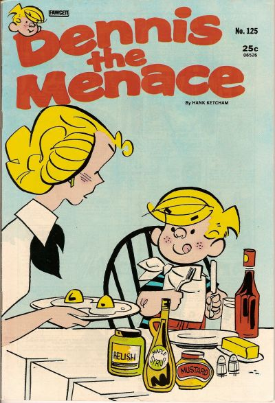 Cover for Dennis the Menace (Hallden; Fawcett, 1959 series) #125