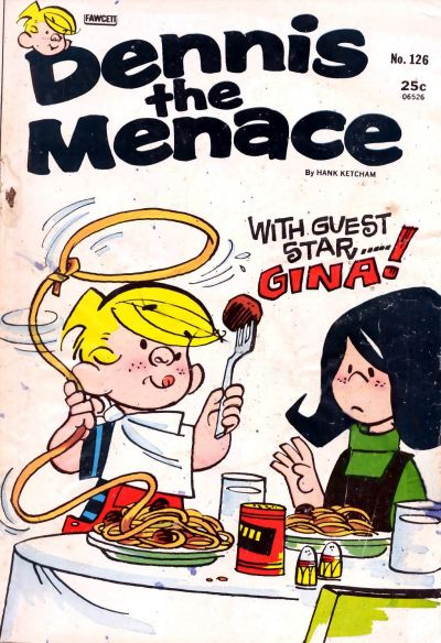 Cover for Dennis the Menace (Hallden; Fawcett, 1959 series) #126
