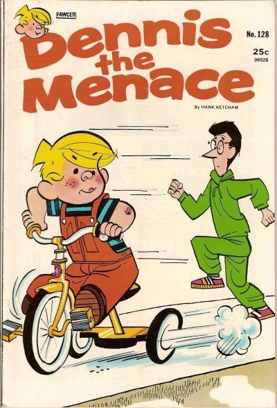 Cover for Dennis the Menace (Hallden; Fawcett, 1959 series) #128