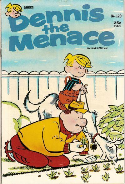 Cover for Dennis the Menace (Hallden; Fawcett, 1959 series) #129